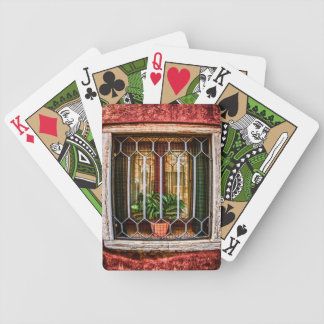 Caged Flower Bicycle Card Decks