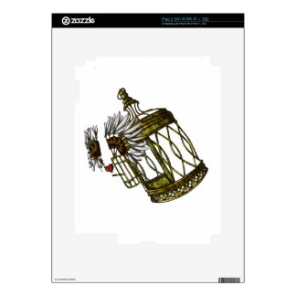 Caged Heart Decals For The iPad 2