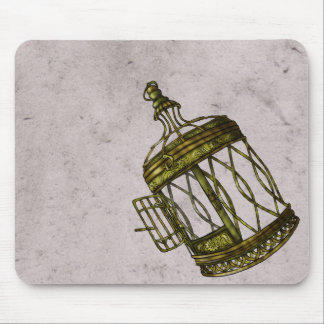 Caged Heart Mouse Pad