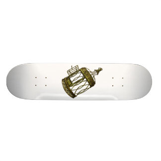 Caged Heart Skateboard
