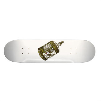 Caged Heart Skateboard Deck