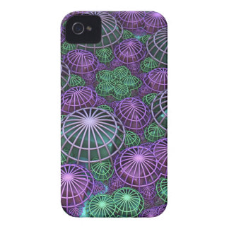 Caged in a Sphere, 3-d abstract iPhone 4 Cover