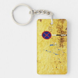 caged lyrics Double-Sided rectangular acrylic keychain