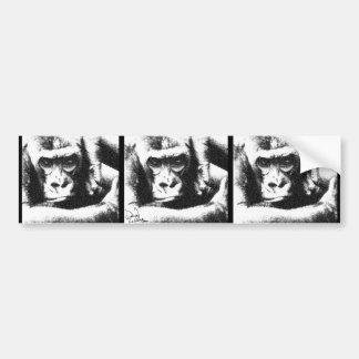 Caged Monkey - LaRue Bumper Sticker