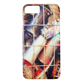 Caged Street Art Spray Cans iPhone 7 Case