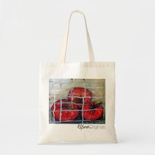 """""""Caged Tomatoes"""" Bags"""