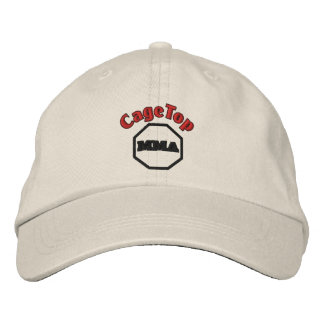 CageTop Embroidery Hat