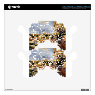 Cagnes Landscape by Pierre-Auguste Renoir Skins For PS3 Controllers
