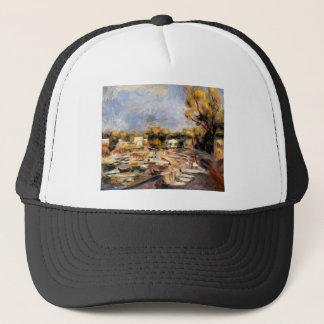 Cagnes Landscape by Pierre-Auguste Renoir Trucker Hat