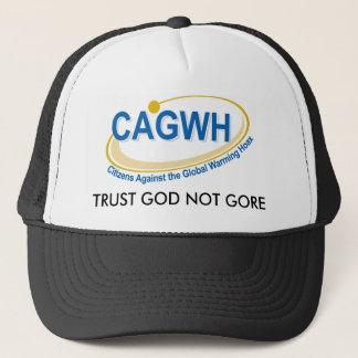 CAGWH HAT, TRUST GOD NOT GORE TRUCKER HAT