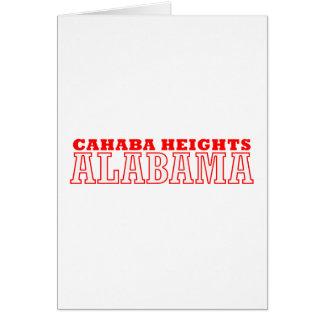 Cahaba Heights, Alabama City Design Card