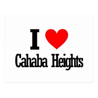 Cahaba Heights, Alabama City Design Postcard