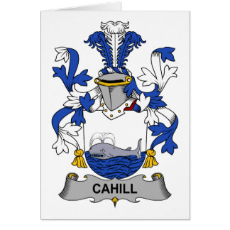 Cahill Family Crest Card