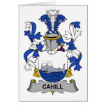 Cahill Family Crest Greeting Card