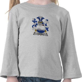 Cahill Family Crest Tee Shirts
