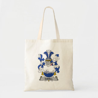 Cahill Family Crest Tote Bag