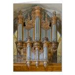Cahors pipe organ greeting cards