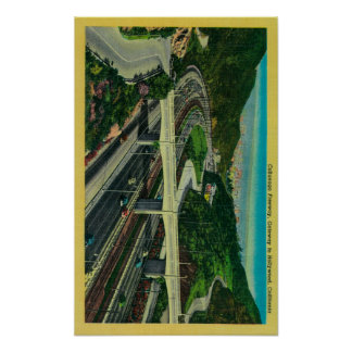 Cahuenga Freeway, Gateway to Hollywood Poster