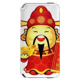 Cai Shen, The Chinese God Of Prosperity iPhone 6/6s Wallet Case