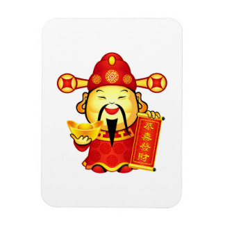 Cai Shen, The Chinese God Of Prosperity Magnet