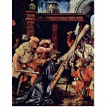 Caída bajo cruz de Cristo de Grünewald Mathis Esculturas Fotograficas