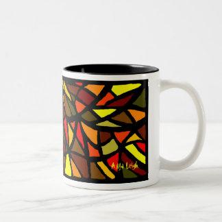 Caída con amor taza de café