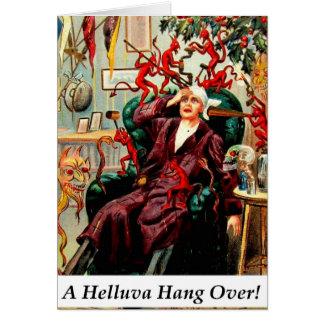 Caída de Helluva de los diablos sobre el fiesta de Tarjeton
