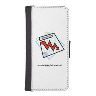 Caída de la cartera del teléfono celular del fundas cartera de iPhone 5