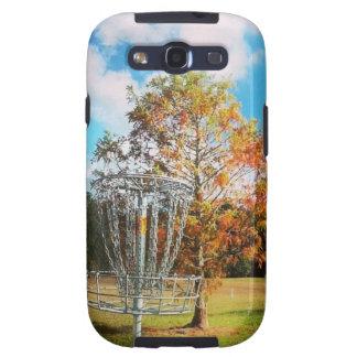 Caída de la cesta del golf del disco en la Florid Samsung Galaxy S3 Protectores