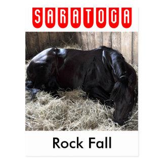 Caída de la roca por Speightstown - Renda Tarjeta Postal
