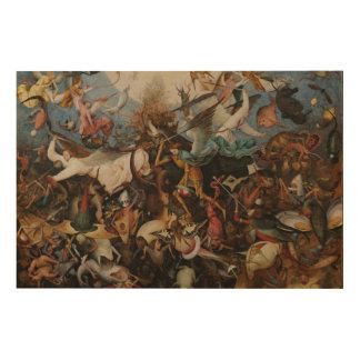 Caída de los ángeles rebeldes de Pieter Bruegel Impresiones En Madera