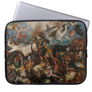 Caída de los ángeles rebeldes de Pieter Bruegel Manga Portátil