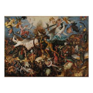 Caída de los ángeles rebeldes de Pieter Bruegel Arte Fotografico