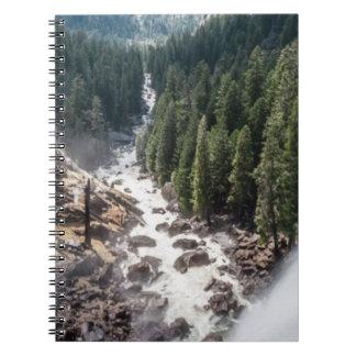 Caída de Vernall y rastro de la niebla Libreta