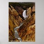 Caída de Yellowstone en Yellowstone Poster