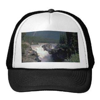 Caída del agua en selva gorras de camionero