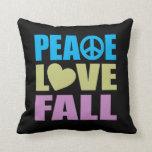 Caída del amor de la paz almohada