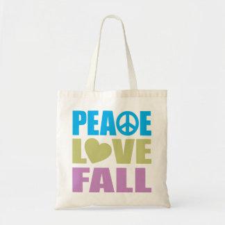 Caída del amor de la paz bolsa