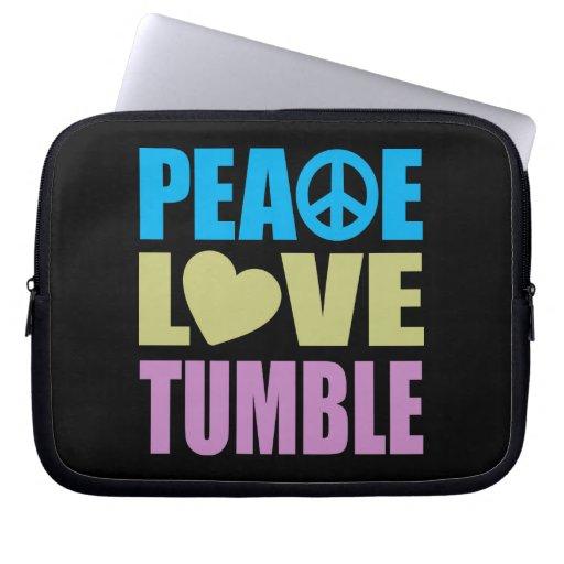 Caída del amor de la paz fundas ordendadores