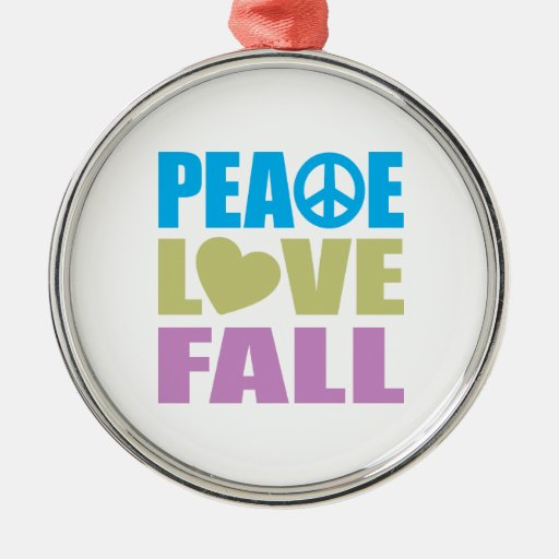Caída del amor de la paz ornamentos de reyes
