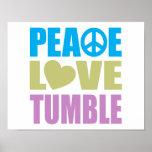Caída del amor de la paz posters