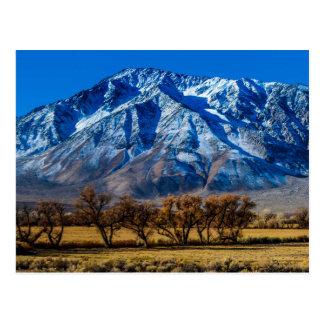 Caída del este de Sierra Nevada - obispo - Tarjetas Postales