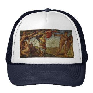Caída del jardín de Eden, fresco, Miguel Ángel Gorro