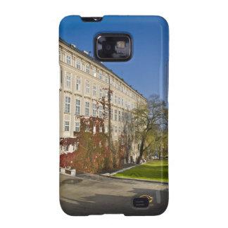 Caída del jardín del castillo de Praga Samsung Galaxy S2 Fundas