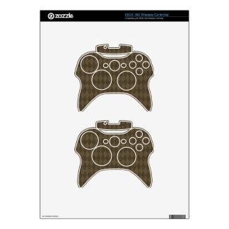CAÍDA ELEGANTE de BROWN del CAFÉ crisp-fall-air-pa Mando Xbox 360 Skin