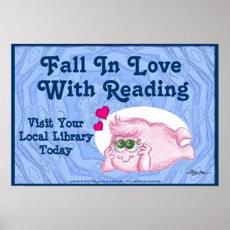 Caída en amor con la lectura posters