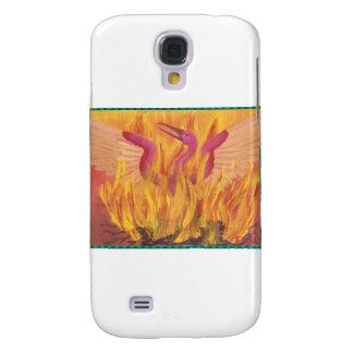 """""""Caída en el fuego"""" Phoenix Funda Para Galaxy S4"""