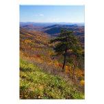 Caída en el parque nacional de Shenandoah, Virgini