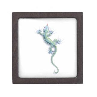 Caída en Gecko Cajas De Joyas De Calidad