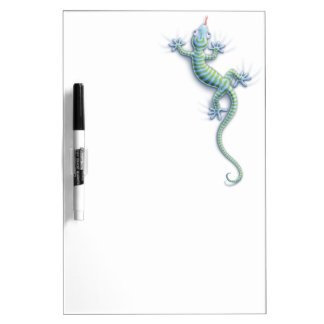 Caída en Gecko Tablero Blanco